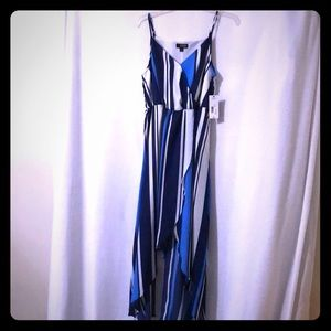 Beautiful woman dress or casual  straps dress